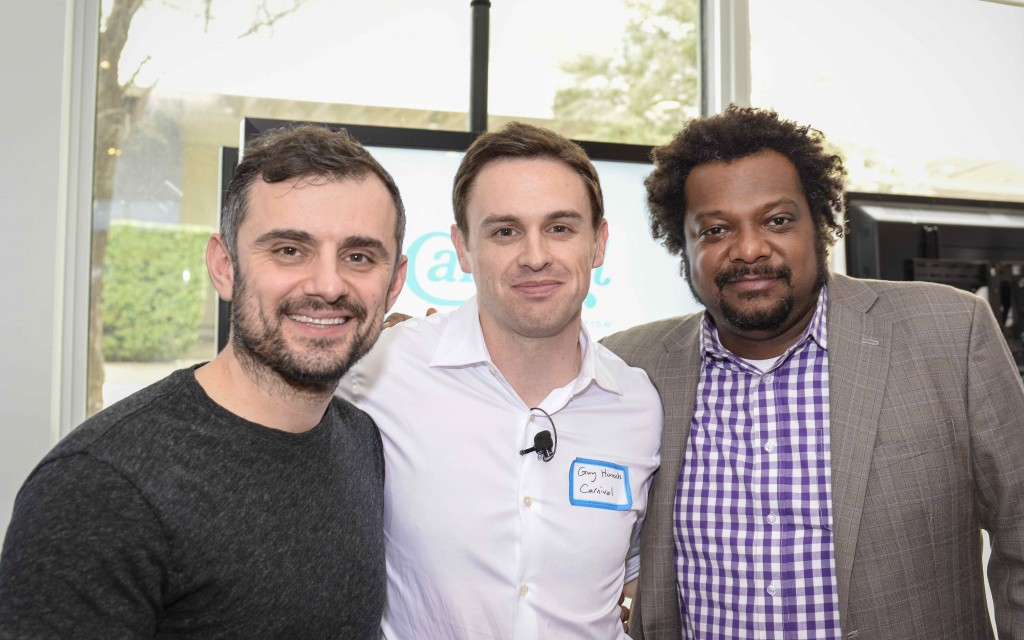 Gary Vaynerchuk, VaynerMedia; Guy Horrocks, Carnival Mobile; & B. Bonin Bough, Mondelez International
