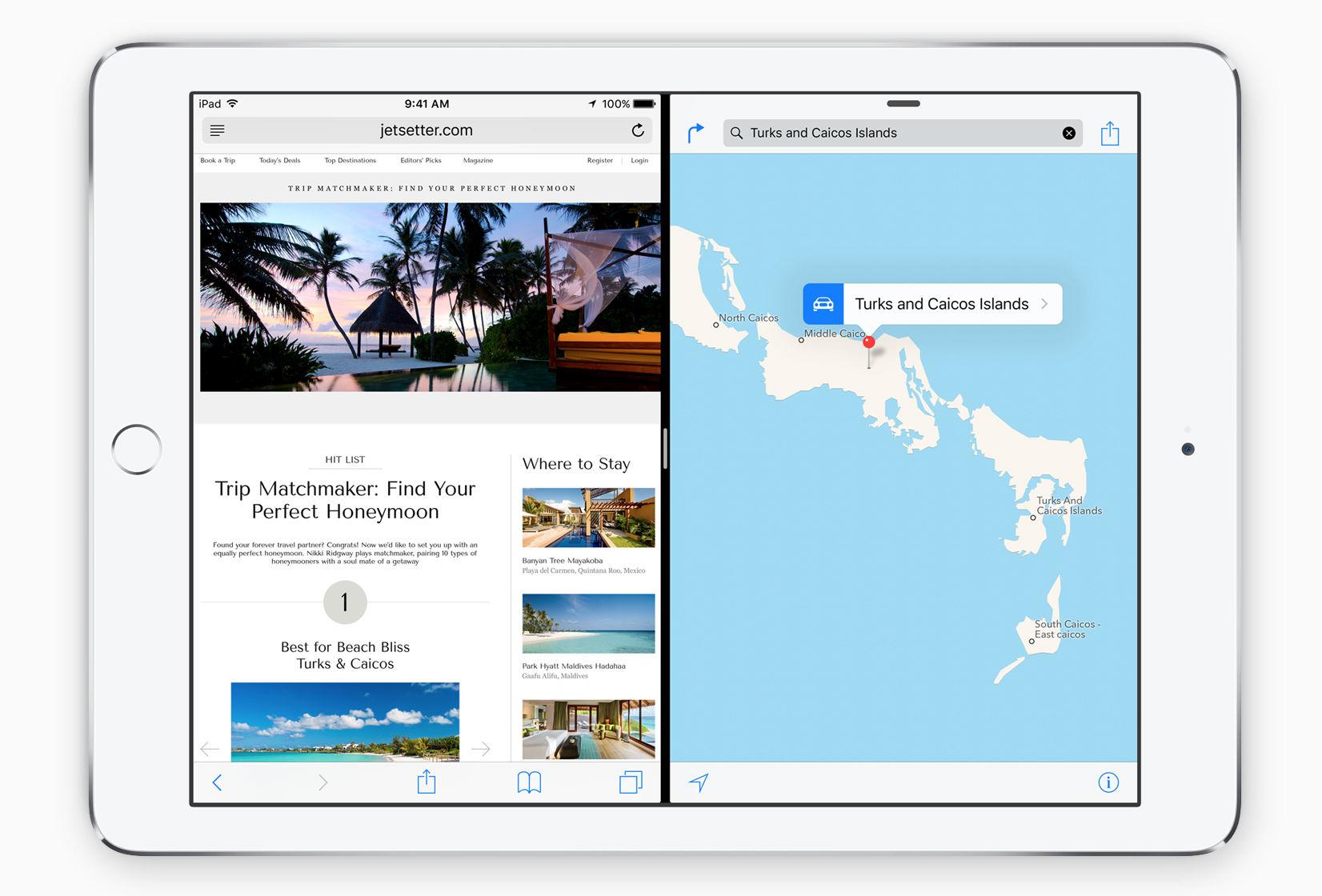 iPad multitasking split-screen iOS 9